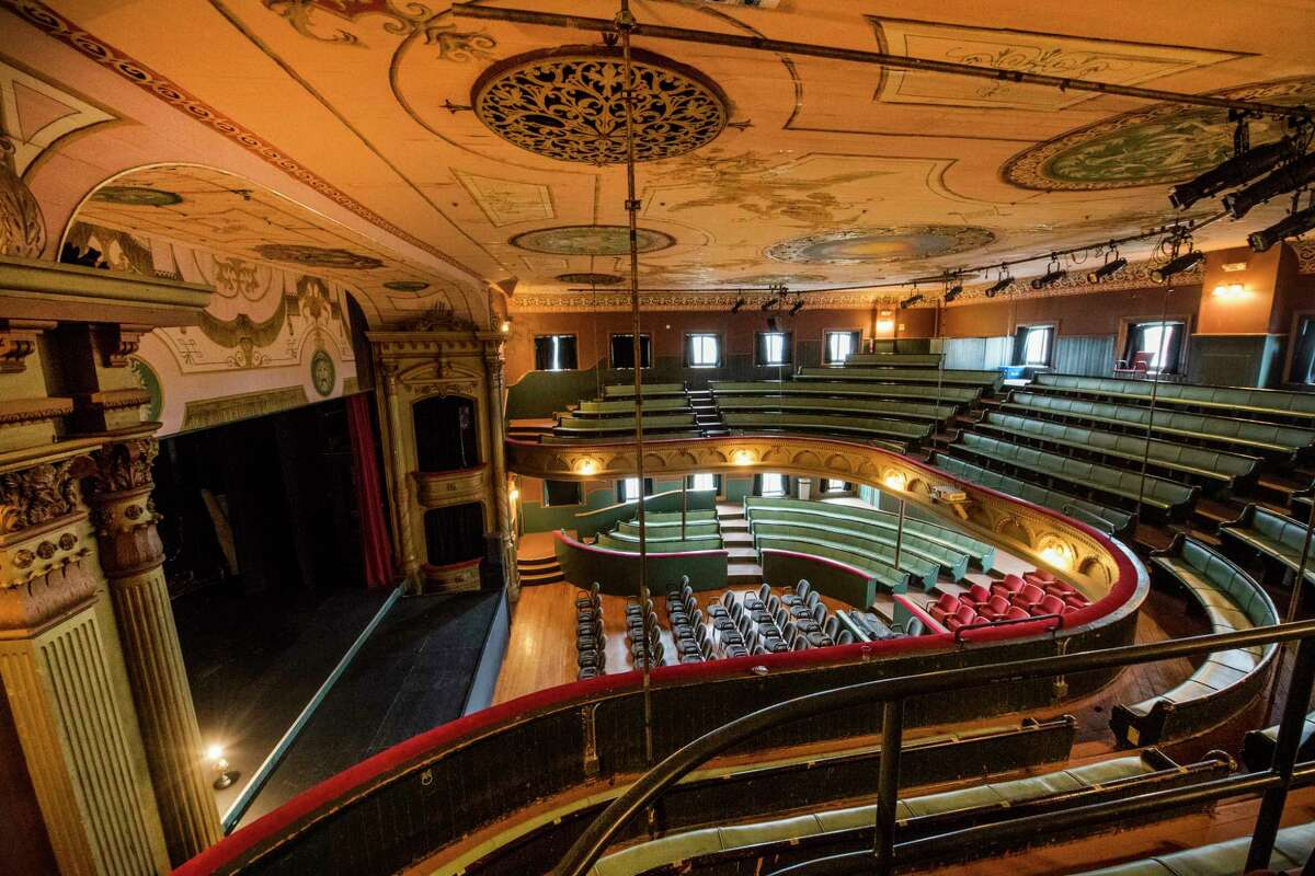 Interiors of the Cohoes Music Hall Monday Oct. 30, 2017 in Cohoes, N.Y. (Skip Dickstein/ Times Union)