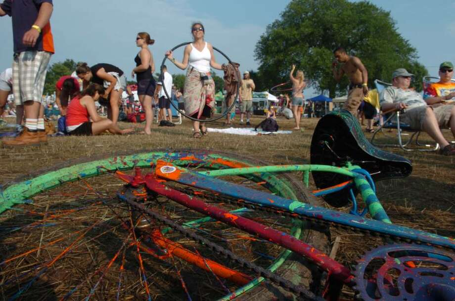 The Gathering of the Vibes festival returns to Seaside Park in Bridgeport July 29th-Aug 1st. Photo: Christian Abraham / Connecticut Post