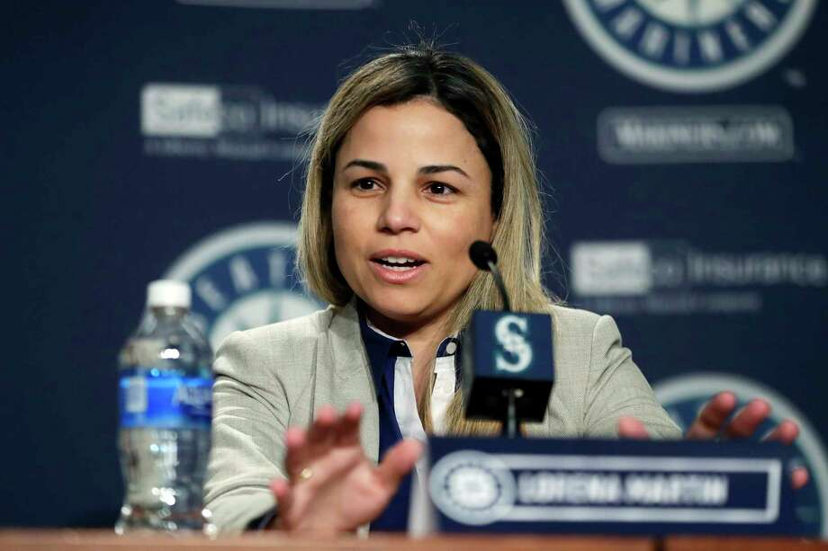 "Major League Baseball announced Wednesday that it's investigation into Dr. Lorena Martin's allegations of workplace gender and racial discrimination against the Mariners found no ""credible evidence."" Photo: Ted S. Warren, AP / Copyright 2018 The Associated Press. All rights reserved."