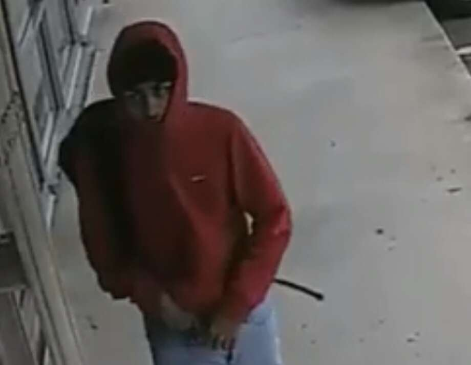 Crime Stoppers and the Houston Police Department's Robbery Division are seeking the public's help in identifying an aggravated robbery suspect. The alleged robber should be considered armed and dangerous. Photo: Houston Police Department's Robbery Division