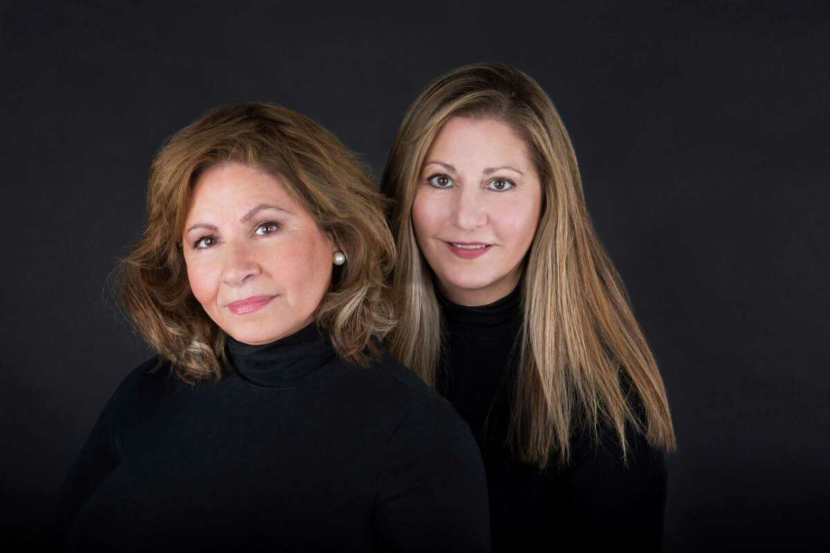 From left, Val and Lynne Constantine