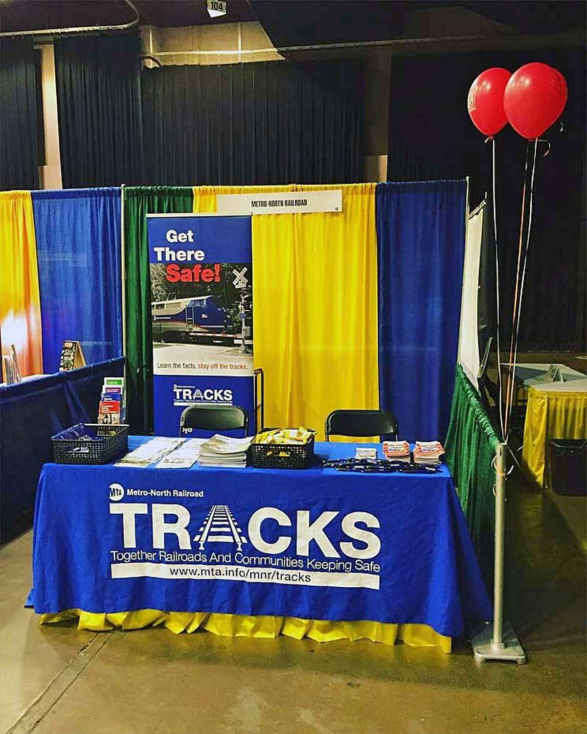 The contest was overseen by TRACKS, the railroad's free safety community outreach and education program. TRACKS, run by the Metro-North's Office of System Safety, is an acronym for Together Railroads and Communities Keeping Safe.