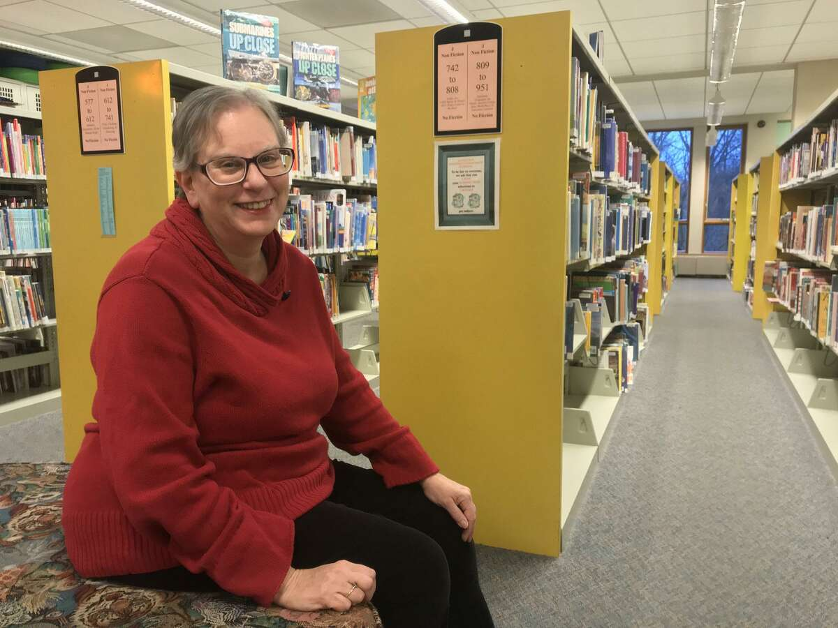 """Martha Seif Simpson, the head of children's services at Stratford Library, recently published a children's book, """"Esther's Graggar: A Toyshop Tale of Purim."""""""