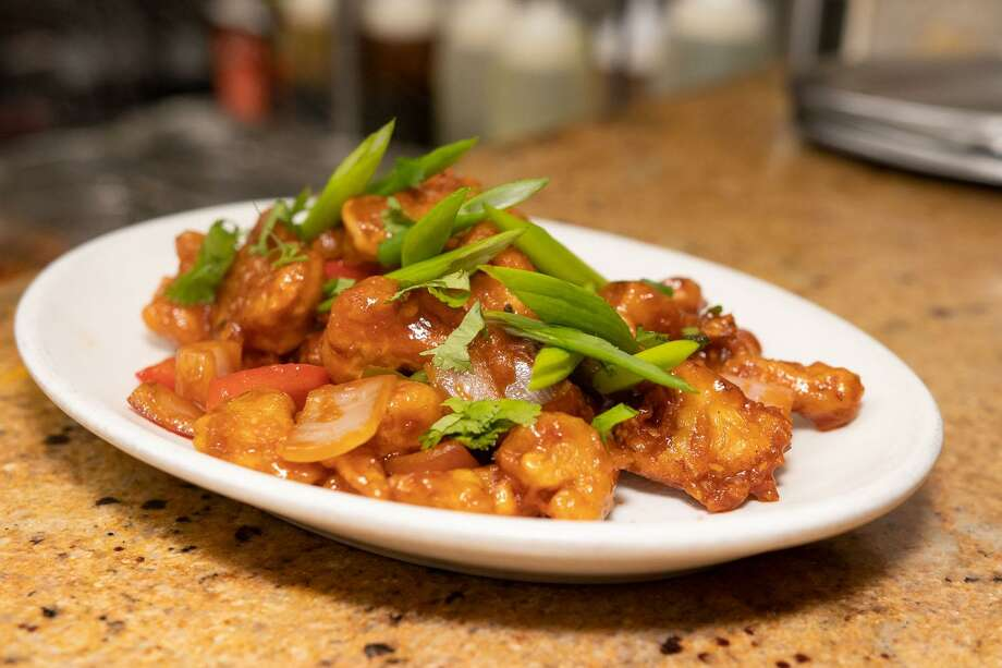 Gobi Manchurian Dry at Navaratna in Stamford. Photo: Ken Honore / For Hearst Connecticut Media Group