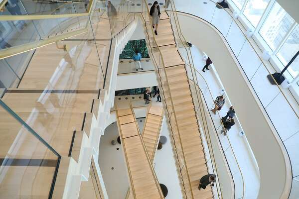 First look: Accenture's five-story staircase in Salesforce