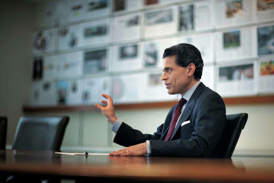 Newsweek International editor Fareed Zakaria at the Newsweek offices in New York City in 2009. Photo: For The Intelligencer