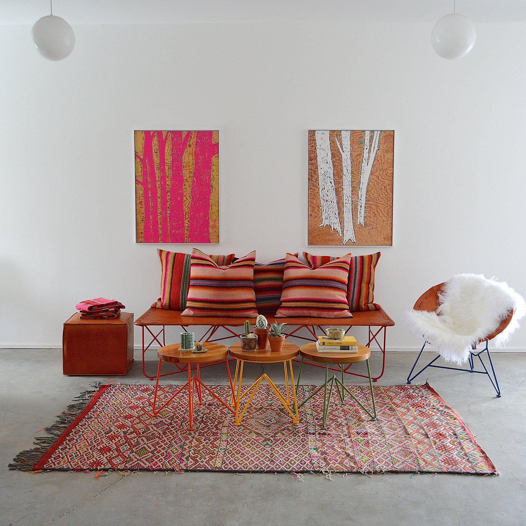 Home Goods Line Garza Marfa Reflects Texas Hues, Bay Area