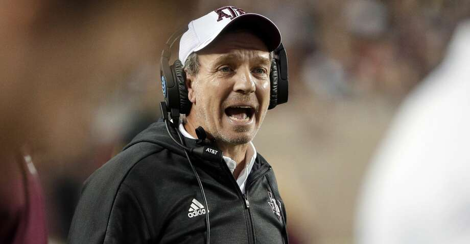PHOTOS: Houston's top 100 recruits FILE - In this Nov. 17, 2018, file photo, Texas A&M coach Jimbo Fisher shouts during a timeout in the first half of an NCAA college football game against UAB in College Station, Texas. (AP Photo/Michael Wyke, File) Browse through the photos to see the top 100 high school football recruits for the Class of 2019. Photo: Michael Wyke/Associated Press