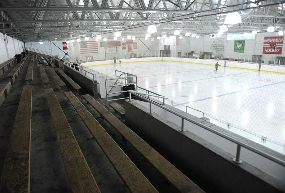 Money to do design and development work for a new rink can now be spent and a report is expected in August about what the community's wants and needs are. Photo: Tyler Sizemore / Hearst Connecticut Media / Greenwich Time