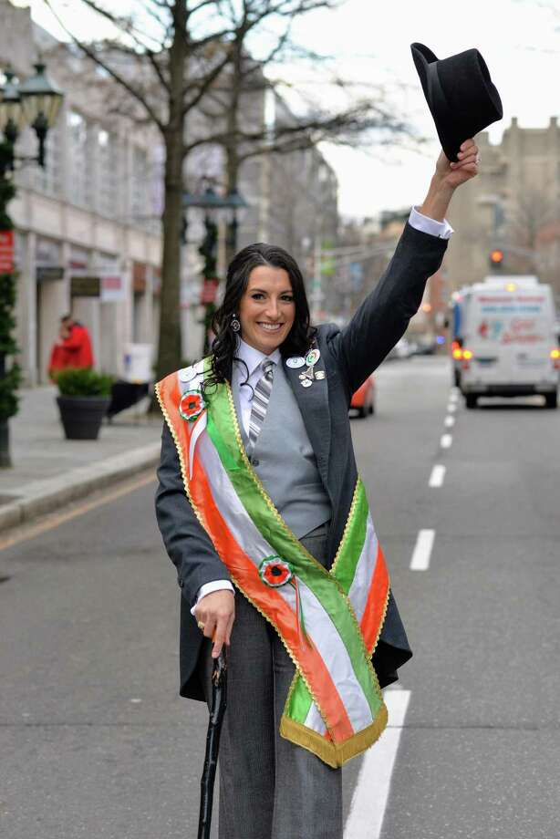 Courtney Lundgren Connors is theGreater New Haven St. Patrick's Day Parade2019 Grand Marshal. Photo: Contributed / Contributed /                                                        ([None] (Photographer) - [None]