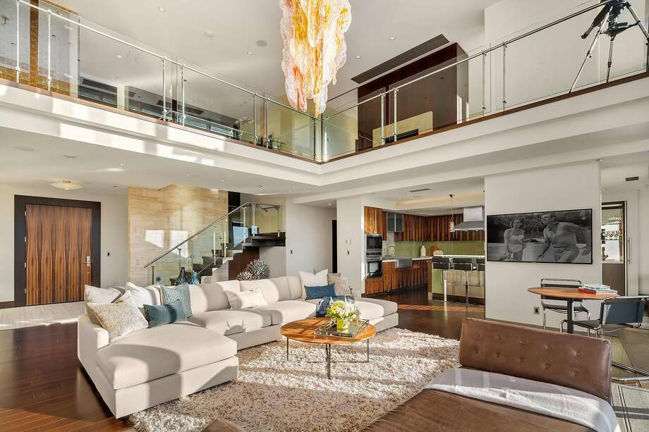 650 Bellevue Way Northeast, Unit 4102, is a two-bedroom penthouse available for $7.49 million. Photo: Andrew O'Neill Clarity NW