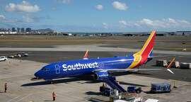 Southwest® Boeing 737-800 at Daniel K. Inouye International Airport.