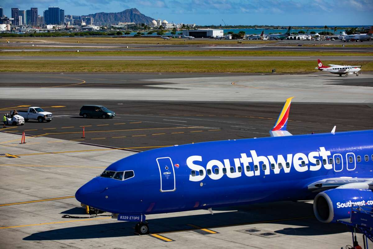Southwest Airlines will reduce Hawaii flying to just two daily roundtrips between Oakland and Honolulu