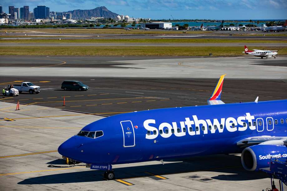 Southwest Airlines will reduce Hawaii flying to just two daily roundtrips between Oakland and Honolulu Photo: SWA