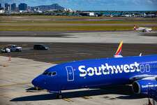 Southwest airlines Boeing 737-800 welcomed on February 6, 2019 at Daniel K. Inouye International Airport in Honolulu