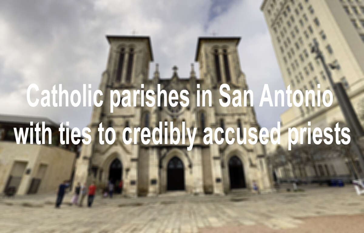 Click through the slideshow to see Catholic parishes in San Antonio with ties to credibly accused priests: