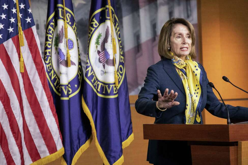 U.S. House Speaker Nancy Pelosi, a Democrat from California, speaks during a news conference at the U.S. Capitol in Washington, D.C., U.S., on Thursday Jan. 24, 2019. Pelosi said that she's glad that the State of the Union speech is