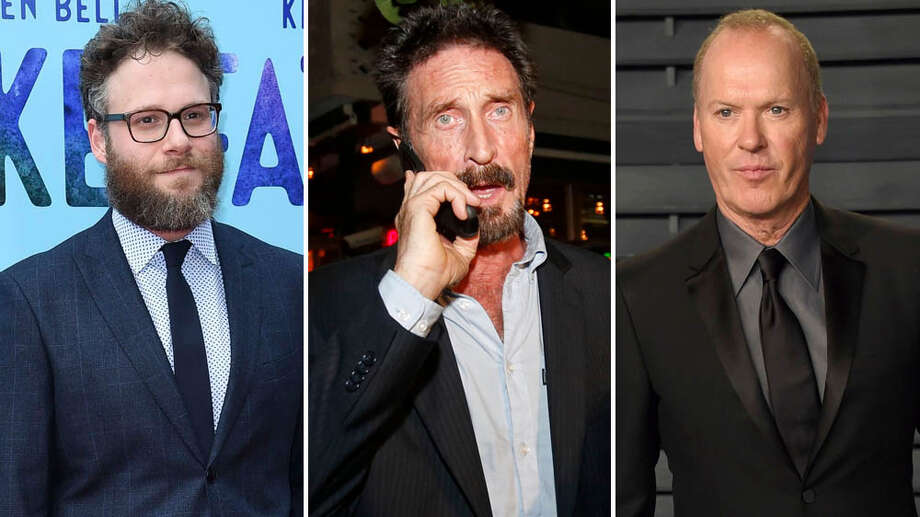 "Michael Keaton will play rogue tech magnate John McAfee, creator of the McAfee Antivirus software, who cashed in his fortune and moved to the jungle in Belize, where he set up a ""Heart of Darkness""-like compound of guns, sex and madness. The role was initially to be played by Johnny Depp. Photo: Shutterstock"