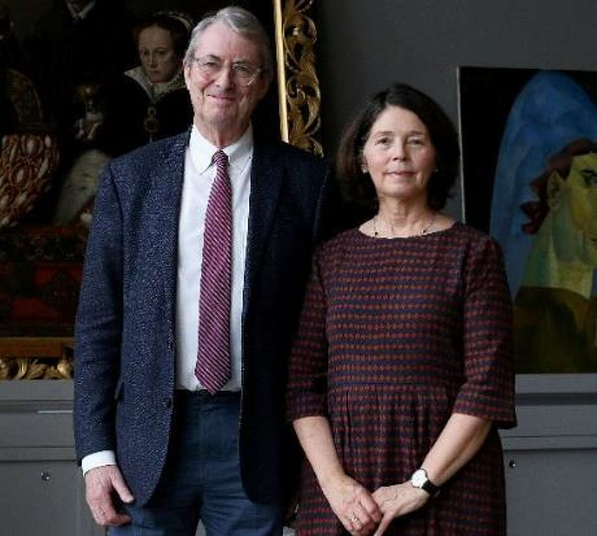 David Bomford, Chairman of the MFAH's Department of Conservation as well as its Audrey Jones Beck Curator, Department of European Art, and his wife, Zahira (Soni) Véliz Bomford, Senior Paintings Conservator, will retire in March 2019.