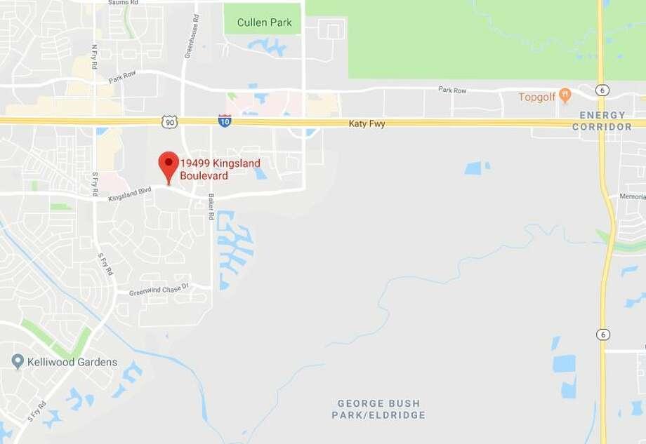 An auto-pedestrian crash was reported on 19499 Kingsland Boulevard on Thursday, Feb. 7, 2019. Photo: Google Maps