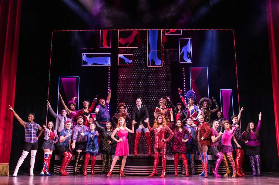 "A scene from ""Kinky Boots."" Photo: Matthew Murphy/National Tour Of Kinky Boots"