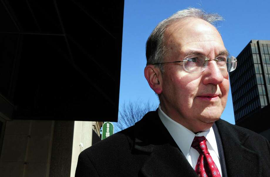 State Senate Majority Leader Martin Looney is photographed in New Haven on 3/4/2011. Looney recently filed a bill aimed at school consolidation in Connecticut. Photo: /
