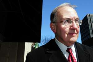 State Senate Majority Leader Martin Looney is photographed in New Haven on 3/4/2011. Looney recently filed a bill aimed at school consolidation in Connecticut.