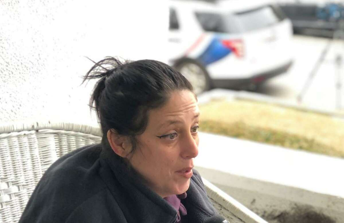Brenda DeGiacomo, a freind and neighbor of Valerie Reyes in New Rochelle, N.Y., discusses her shock Thursday at the news that Reyes, missing since January, was identified as the body found in Greenwich this week.