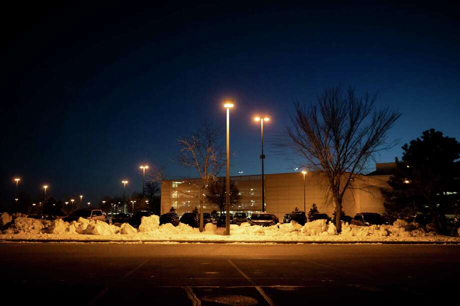The VA Hospital parking lot in Minneapolis where Justin Miller, a 33-year-old Marine Corps veteran, took his own life last year. Photo: Photo For The Washington Post By Jenn Ackerman / For The Washington Post
