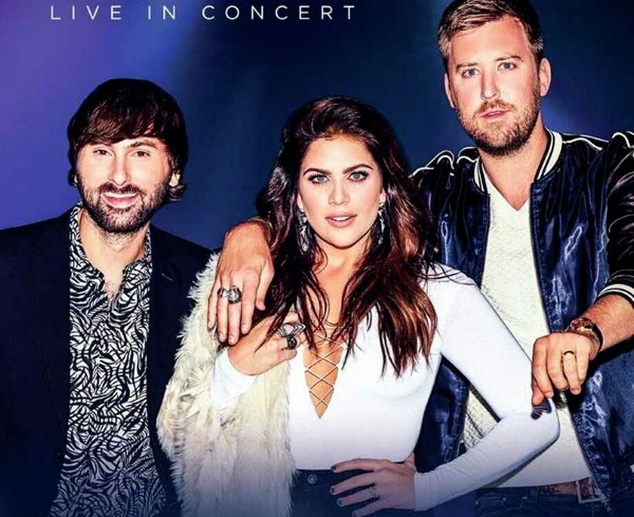 Lady Antebellum will play Saginaw July 12. (photo provided)