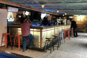 The Aquaduck Beer Garden is located at 9214 Espada Road.