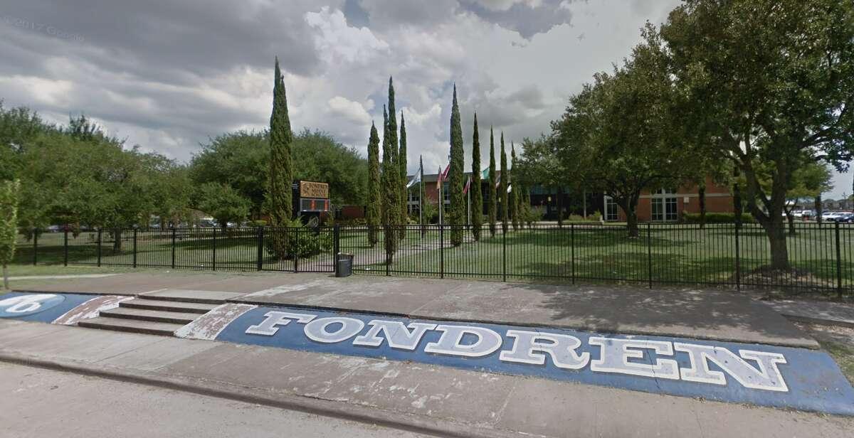 20. (tie) Fondren Middle School, Houston ISD Fighting/Mutual Combat incidents during the 2017-18 school year: 53