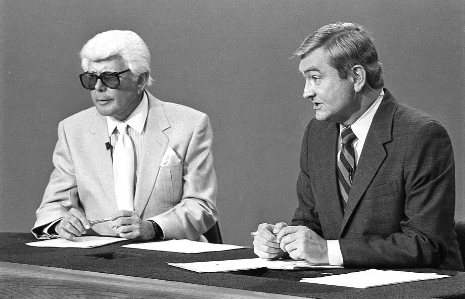 Marvin Zindler, left, and Dave Ward