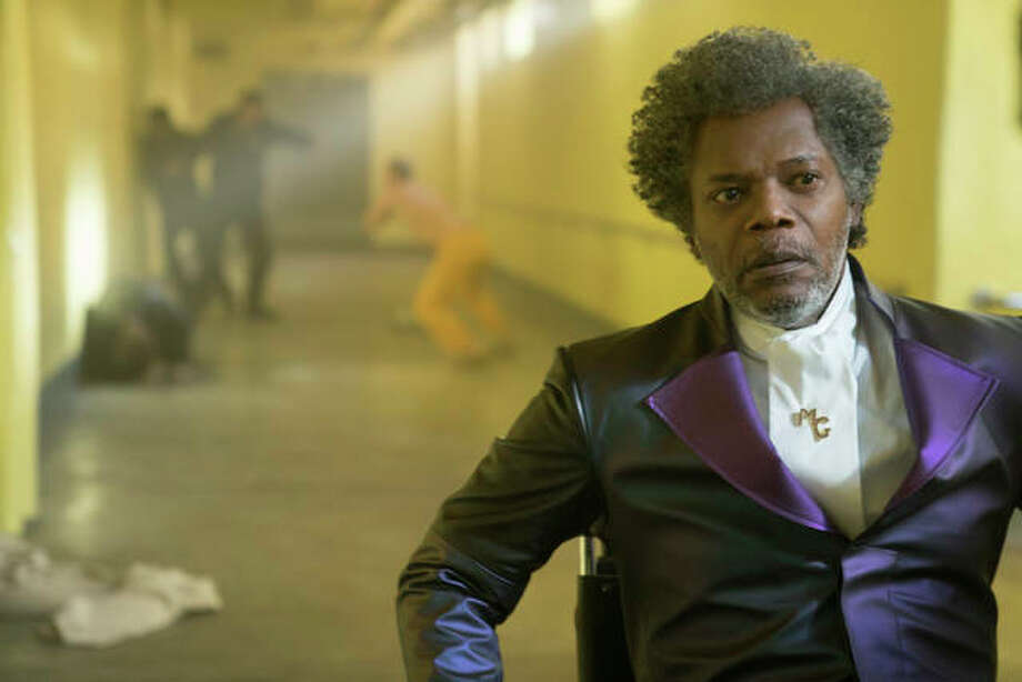 "This image released by Universal Pictures shows Samuel L. Jackson in a scene from M. Night Shyamalan's ""Glass."" Photo: Jessica Kourkounis/Universal Pictures Via AP"