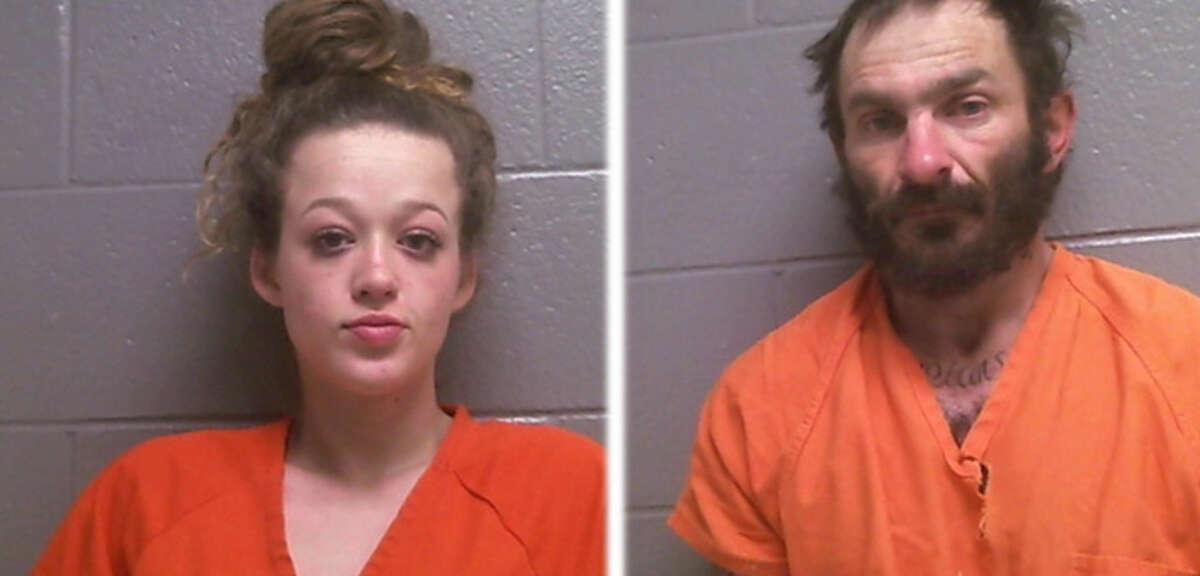 Bailey Strain and Michael Brown Photos: Jasper County Jail