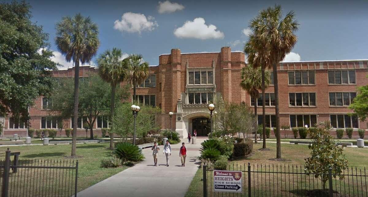 Heights High School Enrollment: 2,402 Disciplined students: 272 Discipline rate per 100 students: 11.2