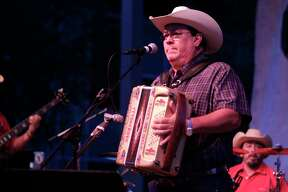 David Lee Garza performs at Discovery Green during the first annual La Voz de Houston Latin Concert Series on Sept. 18, 2011, in Houston.