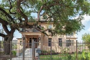 Nicole and Mark Hochglaube have earned a 2019 Good Brick Award from Preservation Houston for restoring the Maria Boswell Flake Home (1912) in Midtown.
