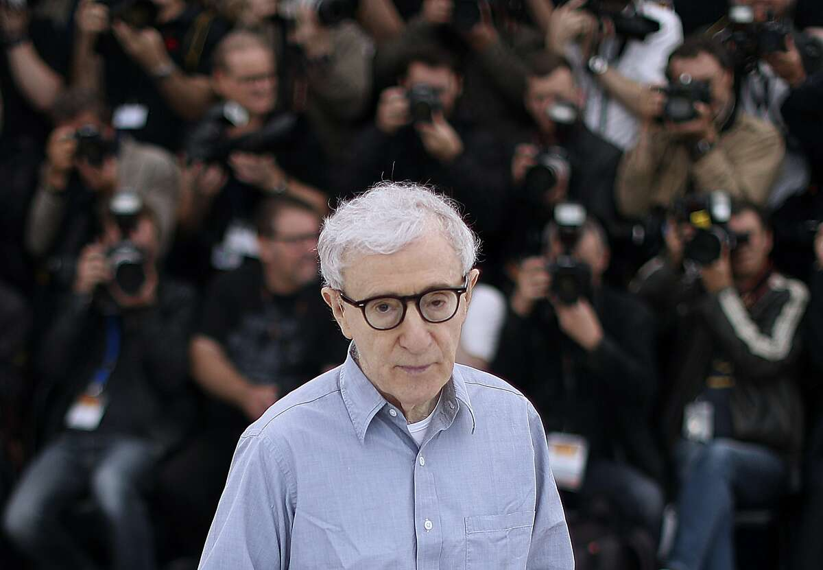 In this file photo taken on May 11, 2016 US director Woody Allen poses during a photocall for the film
