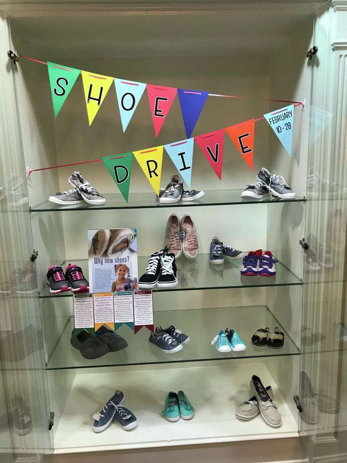 "Parkway Place is conducting a shoe drive from Sunday, Feb. 10, until Thursday, Feb. 28. The annual event benefits ""Shoes for Orphan Souls."" Photo: Photo Courtesy Of Parkway Place"