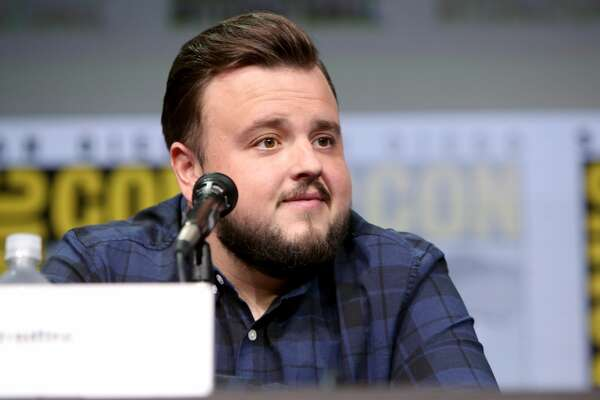 "SAN DIEGO, CA - JULY 21: Actor John Bradley speaks at the ""Game of Thrones"" panel with HBO at San Diego Comic-Con International 2017 at San Diego Convention Center on July 21, 2017 in San Diego, California. (Photo by FilmMagic/FilmMagic)"