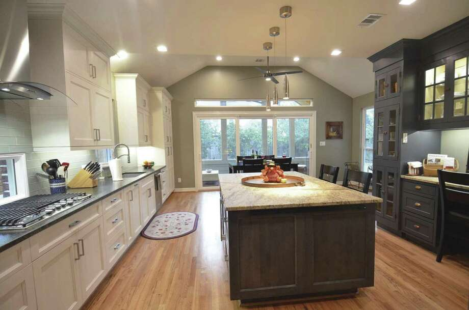 This kitchen remodel is part of a home addition project.