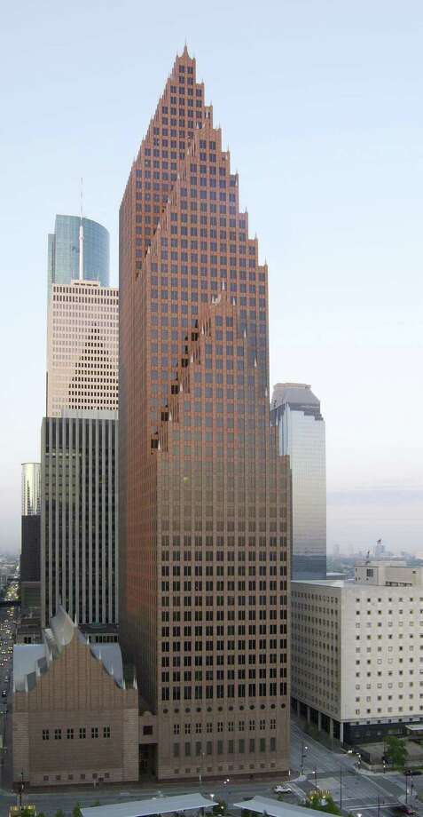 Bank of America Center, a 56-story, 1.2 million-square-foot building at 700 Louisiana in the Theater District, was designed by architects Phillip Johnson and John Burgee. Developed by Hines, the building was completed in 1983. Houston-based M-M Properties is managing partner of the building's ownership group. Photo: PM Realty Group / PM Realty Group / handout