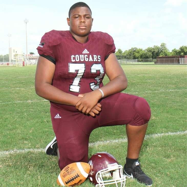 Kempner High School offensive guard Akinola Ogunbiyi.