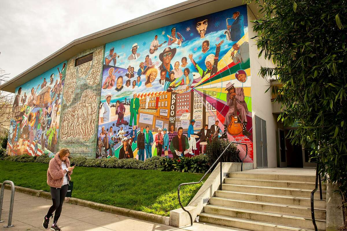 The Hamilton Recreation Center in San Francisco's Western Addition, shown last year, will be the site of a learning hub for San Francisco children.