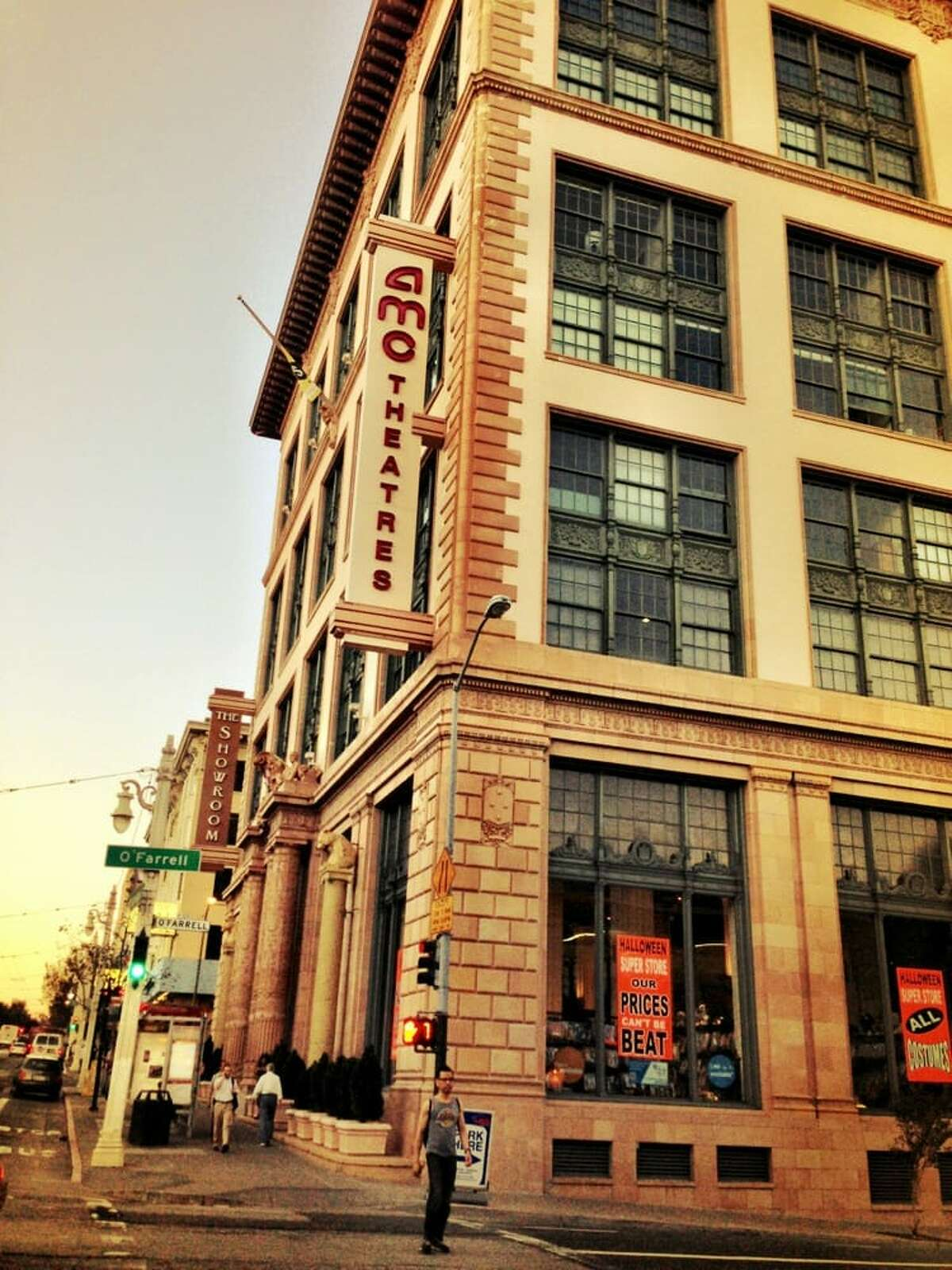 AMC's Van Ness 14 in San Francisco is closing its doors on Feb. 7, 2019. Photograph take on Oct. 1, 2012.