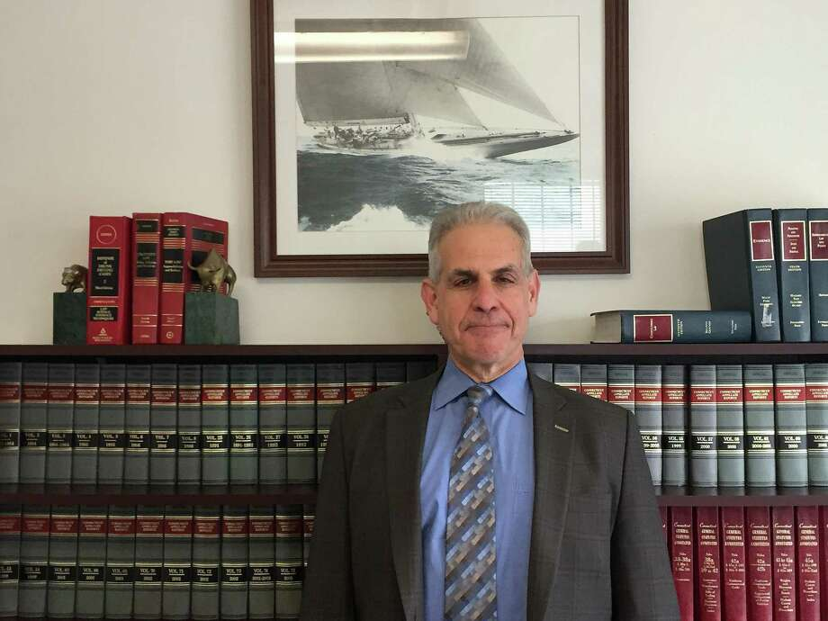 Jonathan Perkins, founder of Jonathan Perkins Injury Lawyer. Photo: Jordan Grice / Hearst Connecticut Media / Connecticut Post