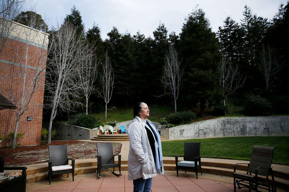 Melida Solorzano is the director of San Francisco General Hospital's Hummingbird Place, a respite center for people recovering from drug or mental health crises. S.F.'s methamphetamine overdose deaths have doubled over the past decade. Photo: Santiago Mejia / The Chronicle