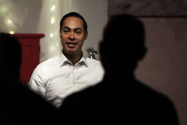 Julian Castro, former U.S. Secretary of Housing and Urban Development and candidate for the 2020 Democratic presidential nomination, during a campaign visit in Somersworth, N.H., Tuesday, Jan. 15.