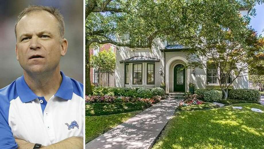 Just a month after losing his gig as the offensive coordinator of the Dallas Cowboys, Scott Linehan is selling his Highland Park home for $2.3 million. Photo: Leon Halip/Getty Images; Realtor.com